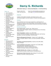 American Resume Example by Clean Training Specialist Resume Example Template