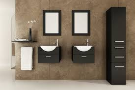 Bathroom Cabinets For Bowl Sinks Excellent Small Bathroom Vanity Ideas Using Ceramic Single Bowl