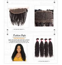 Human Hair Extensions Nz by Curly Virgin Hair Weave 3 Bundles With Lace Frontal Closure