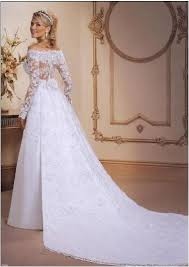 Chapel Train Wedding Dresses White Strapless Satin A Line Wedding Dresses Lace Appliques Long