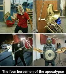 Tuba Memes - the four horsemen of the apocalypse dark souls imgur jpeg
