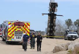 bourne ma 2 killed when bucket truck topples