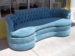 Vintage Tufted Sofa by Hollywood Regency Sofa Circa Who