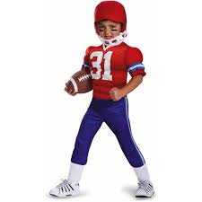 halloween baseball costumes football player toddler muscle costume walmart com