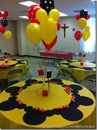 mickey mouse party decorations mickey mouse birthday party on how to make