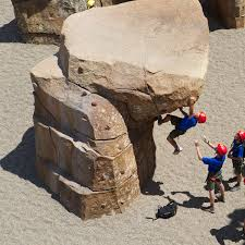custom rock climbing boulders for playgrounds courtyards