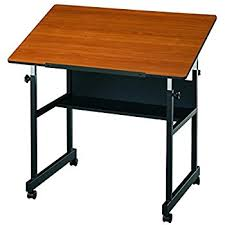 amazon com alvin mm36 3 wbr minimaster table black base with