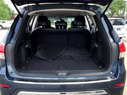 nissan pathfinder trunk space used nissan for sale