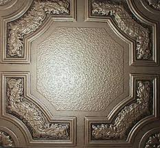 Stick On Ceiling Tiles by Caracas Antique Bronze Ps Glue On Ceiling Tiles Antique