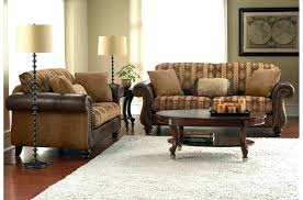 Leather With Fabric Sofas Leather And Fabric Furniture Mixed Jincan Me