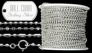 sterling silver chain sterling silver chain spools