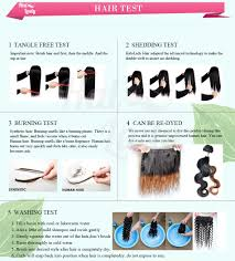 Really Cheap Human Hair Extensions by Cheap Halo Lady Ombre Color Straight Human Hair Weaves Bundles 1b