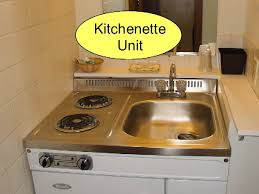 Kitchen Sink Combo - small space kitchen design with sink stove combo kichenette units