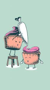 Cute Wall Papers by Cannonball Art Print Chocolate Marshmallows Marshmallow And