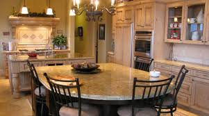 kitchen islands with chairs stylish granite top kitchen island with seating and antique rustic