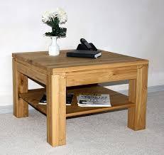 Wohnzimmer Tisch Wohnzimmertisch 100x100 Couchtisch Wildeiche Geölt