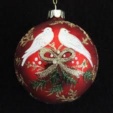 metal filigree turtle doves tree in pot dec my christmas