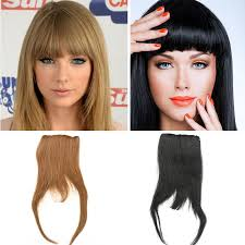 clip in fringe clip in human hair bangs 25g all colors human hair clip bangs 100