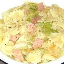 cuisine polonaise recettes recette nouilles au chou à la polonaise toutes les recettes