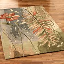 Area Rugs Tropical Island Oasis Tropical Area Rugs