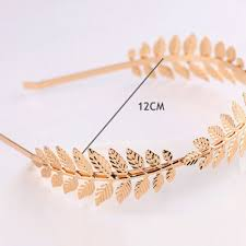 aliexpress buy 2017 crown gold color leaf