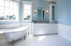 blue master bath designed for tranquility bathroom design classic