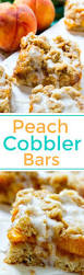 peach cobbler bars spicy southern kitchen
