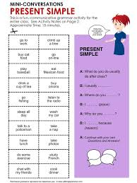 89 best present simple images on pinterest english grammar