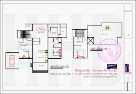 Indian House Plans by Kerala Model Villa Open Courtyard Indian House Plans Building