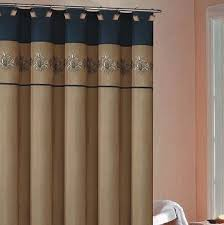 Brown And Gold Shower Curtains Fascinating Navy And Gold Shower Curtain Pictures Best