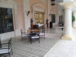 Avente Tile Talk March 2012 Avente Tile Talk Cement Tile Border Pattern Creates Charming Patio