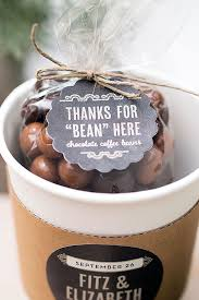 bridal brunch favors wedding favor friday chocolate covered coffee beans chocolate