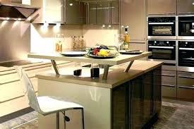 cuisine ouverte avec ilot table cuisine americaine avec bar ilot cuisine bar erlot central cuisine