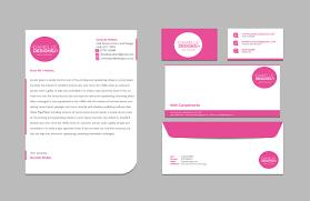 Business Card And Letterhead Consistent Design Daniellewalkerdesigns