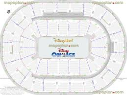 bok center disney live u0026 disney on ice arena chart best seat