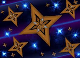 Hintergrundmuster Blau Kostenlose Illustration Sterne Hintergrund Muster Blau