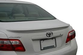 amazon com toyota camry spoiler painted in the factory paint code