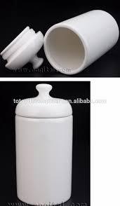 transparent sublimation blanks ceramic canister set kitchen oil