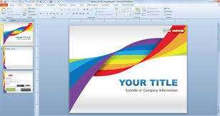 free slide presentation template download free puzzle pieces
