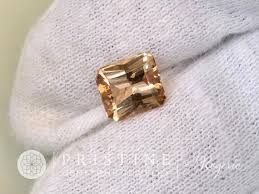 fine gemstone rings images Imperial topaz modified radiant emerald cut shape loose faceted gemsto jpeg
