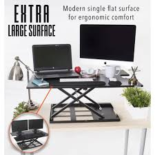 Stand Sit Desks by X Elite Pro Xl 36 U201d Sit Stand Standing Desk Converter Stand Steady