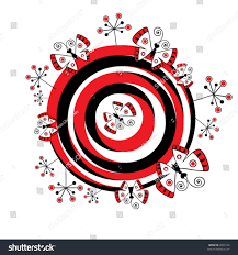 abstract butterfly pattern stock vector 8945122