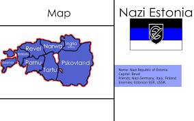 Estonian Flag Map And Flag Of Estonia By Kvlchk On Deviantart