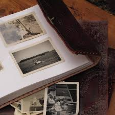 photo album leather handmade indra medium leather photo album by paper high