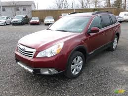 red subaru outback 2005 ruby red pearl 2012 subaru outback 2 5i limited exterior photo