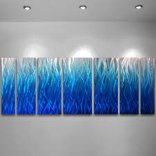 wall art inspiring turquoise metal wall art turquoise and gray