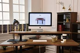 this standing desk could sync with your smart home devices the verge