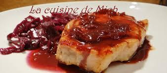 cuisiner le chou cuit chou à l ananas porc ibérique sauce au vin et sirop de liège