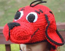Clifford Big Red Dog Halloween Costume Pony Costume Applejack Crochet Hat Pattern Pdf