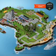 Island Map Generator 3d Map Generator 2 Isometric By Orange Box Graphicriver